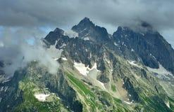 Summit in Caucasus Stock Images