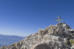 Summit of Corno Grande Royalty Free Stock Image