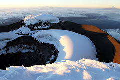 Summit of Cotopaxi Royalty Free Stock Photography