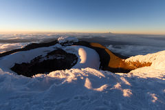Summit of Cotopaxi Royalty Free Stock Image
