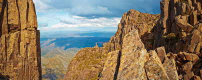 Summit of Cradle  mountain Stock Photography