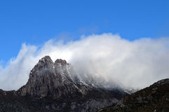 Summit of Cradle Mountain in Tasmania Australia Royalty Free Stock Photography