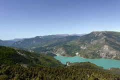 Summit of the cremon, france Stock Photo