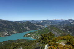 Summit of the cremon, france Royalty Free Stock Photo