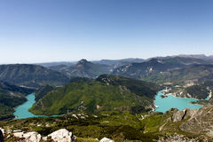 Summit of the cremon, france Stock Images