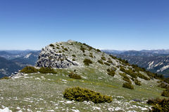 Summit of the cremon, france Royalty Free Stock Image