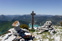 Summit of the cremon, france Stock Image