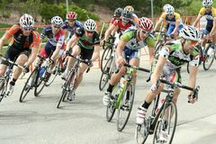 Summit Criterium Race Royalty Free Stock Photos