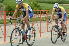 Summit Criterium Race Stock Photos
