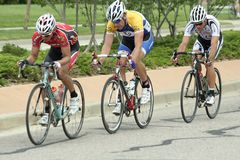 Summit Criterium Race Royalty Free Stock Image