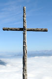 Summit cross Royalty Free Stock Photography