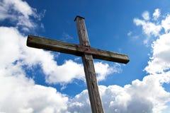 Free Summit Cross Stock Images - 17990784