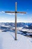 Summit Cross Stock Photos