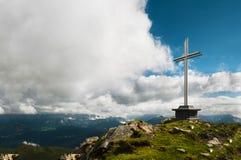 Summit Cross Royalty Free Stock Photo