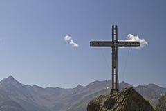 Summit Cross in East Tyrol Royalty Free Stock Photos