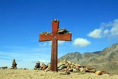 The summit cross Royalty Free Stock Image