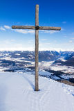 Summit cross Stock Photos