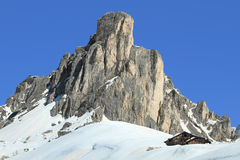 Summit of Dolomites Royalty Free Stock Photos