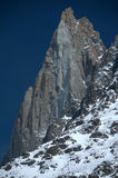 The summit of the Drus Stock Photo
