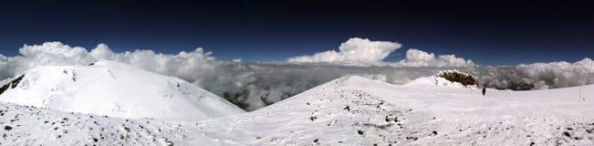 Summit of Elbrus Stock Photos