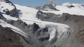 summit Geleira de Gornergrat video estoque