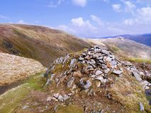 Summit of High Pike, Lake District Royalty Free Stock Photos