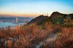 On the summit of High West, Hong Kong Island Royalty Free Stock Photo