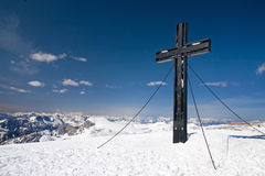 Summit of Hochschwab Royalty Free Stock Photo