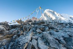 Summit of Kala Patthar Stock Photo