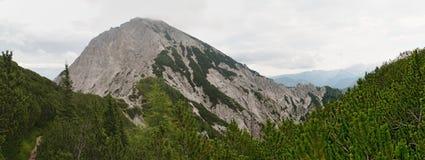Summit of Kepa in Karawanken mountains Stock Images