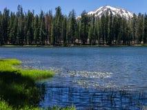 Summit Lake, Lassen Volcanic National Park Stock Photo