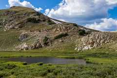 Summit lake in rocky mountain national park colorado Royalty Free Stock Images