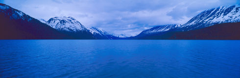 Summit Lakes along Seward Highway Stock Photos