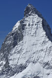 The summit of the matterhorn Royalty Free Stock Image