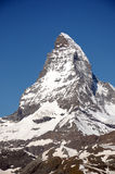 The summit of the Matterhorn Royalty Free Stock Photos