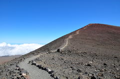 Summit of Mauna Kea - Big Island, Hawaii Stock Photo