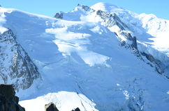 Summit of Mont Blanc Royalty Free Stock Photo
