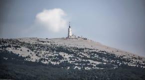 Le Geant, Mont Ventoux, France. The summit of Mont Ventoux in France Stock Photo