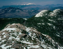 From the summit of Mount Chocorua, New Hampshire royalty free stock photography