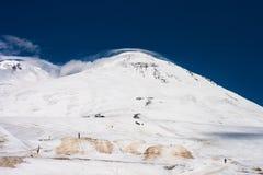 The summit of Mount Elbrus Royalty Free Stock Photos