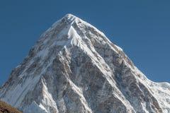 Summit of Mount lhotse Stock Photo