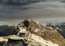 Summit of Mount Pilatus Stock Photography
