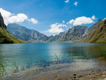 The summit of Mount Pinatubo Crater Lake Royalty Free Stock Photos