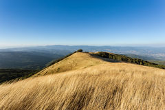 The summit of Mount Pratomagno Italy Stock Photography