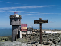 Summit of Mount Washington Royalty Free Stock Photos