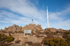 Summit of Mount Wellington Royalty Free Stock Image
