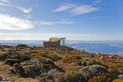 Summit of Mount Wellington royalty free stock photos
