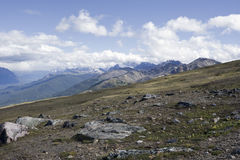 Summit of mount whistler royalty free stock photography