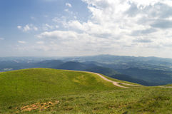 Summit of the mountain Puy de Dome Stock Image