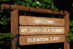 Summit of Mt Greylock Reservation, Massachusetts Stock Photography